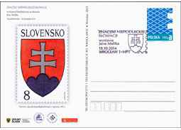 Promotional exhibition of Slovak stamps in Poland
