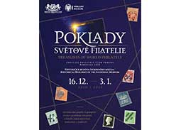 Prestige Philately Club Prague organized a unique exhibition Biennale 2020 - TREASURES OF WORLD PHILATELY