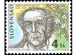 Postage Stamp Personalities: Jozef Ľudovít Holuby (1836 – 1923) - 160th birth anniversary