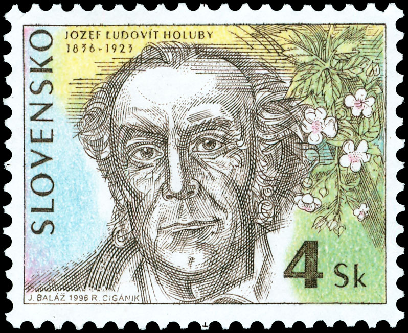 Postage Stamp Personalities: Jozef �udov�t Holuby (1836 � 1923) - 160th birth anniversary