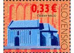 Cultural heritage of Slovakia: Church of the Nativity of Our Lady in Cierny Brod