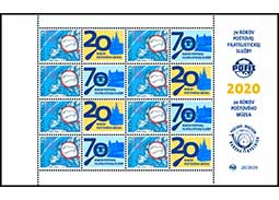 70 years of the Postal Philatelic Service POFIS (postage stamp ZSF)