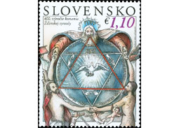 Postage stamp Žilina Synod is the most beautiful in Europe