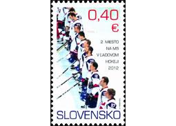Slovensko - 2. miesto na MS vľadovom hokeji 2012