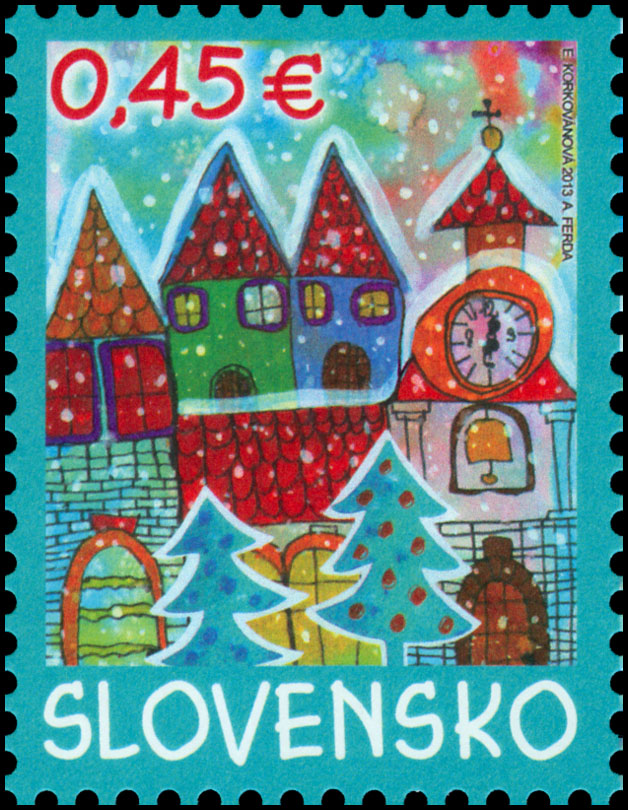 Postage Stamp Christmas Post 2013 (with a personalized coupon)