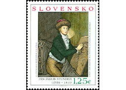 Slovak Post issue two new stamps with artistic motif