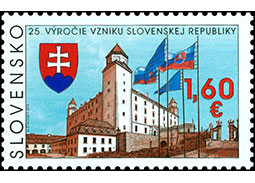 25th anniversary of the founding of the Slovak Republic