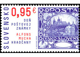 Day of postage stamp: Alfons Mucha � Hrad�any