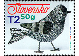 Postage Stamp Easter 2019: Traditional Slovak tinkering