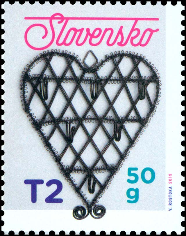 Postage Stamp Christmas 2019: Traditional Slovak Tinkering
