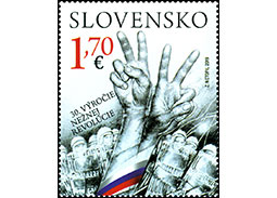 30th Anniversary of the Velvet Revolution (joint issue with the Czech Republic)