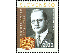 Personalities: Michal Bos�k (1869 � 1937) - 150th birth anniversary