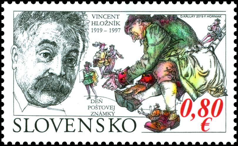 Day of postage stamp: Vincent Hlo�n�k (1919 � 1997)