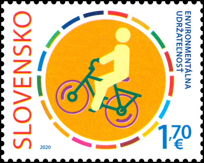 Postage Stamp MILANOFIL 2020 – ACT NOW - ENVIRONMENTAL SUSTAINABILITY (Joint edition with Italy)