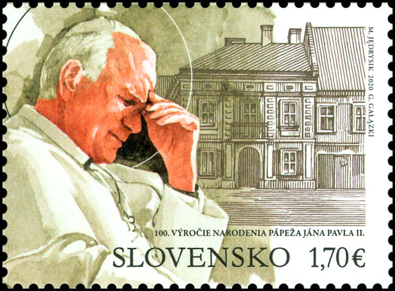 100th birth anniversary of Pope John Paul II (1920 - 2005) (joint issue with Poland)