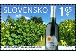 Viticulture in Slovakia (joint issue with Malta)