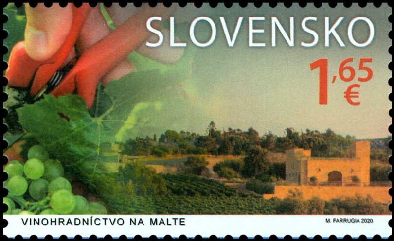 Viticulture in Malta (joint issue with Malta)