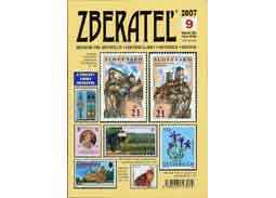 The new issue of the magazine Zberatel (Collector) 9/2007