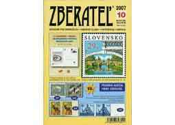The new issue of the magazine Zberatel (Collector) 10/2007