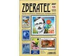 The new issue of the magazine Zberatel (Collector) 11/2007
