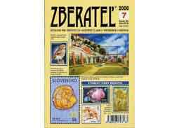 The new issue of the magazine Zberatel (Collector) 7/2008