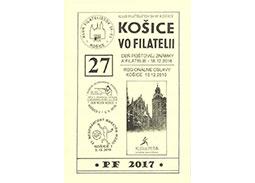 Vydanie zborníka KOŠICE VO FILATELII č. 27/2016