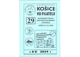 Issue of proceedings KOŠICE VO FILATELII (KOSICE IN PHILATELY) No. 29/2018