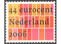 Postage stamp surprise from the Netherlands - Peter Bilak