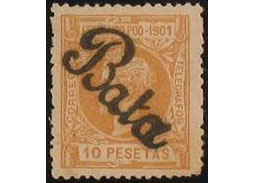 Postage stamp territories - Assobla and Bata