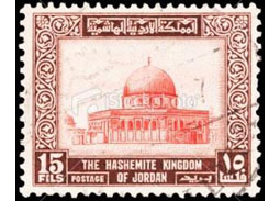 Postage stamp territories - Middle East