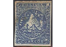 Postage stamp territories - Challa 1863