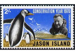 Postage stamp territories - Jason Islands and Isle of Samson