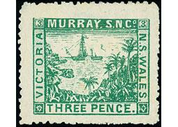 Známkové územia - Lodné pošty