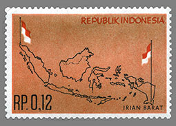 Postage stamp territories - West Irian