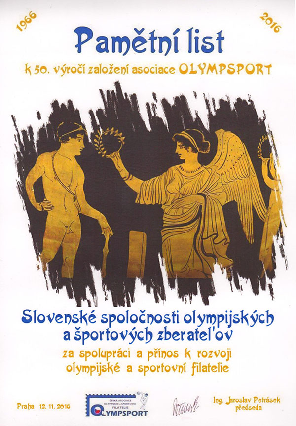Oslavy 50. v�ro�ia OLYMPSPORTu (1966 - 2016)
