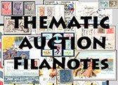Thematic Auction FilaNotes: OLYMPIC GAMES AND MAJOR SPORT EVENTS, SPORTS, PHYSICAL TRAINING & EDUCATION, AND SCOUTING