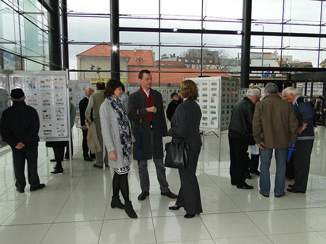 Slávnostné otvorenie propagačnej filatelistickej výstavy SVET ZNÁMOK