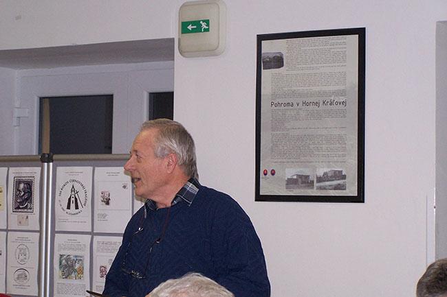 Výročná členská schôdza KF 52-51 pri Dome Matice slovenskej v Nitre