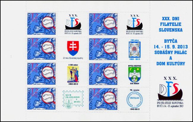 XXX. Dni filatelie Slovenska 2013 v Bytči