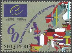 Slovaciká - Albánsko - 60. výroèie Európskej komisie - Vlajka Slovenska