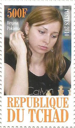 Slovaciká - Čad - Svetové šachistky - Regina Pokorná