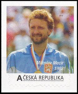 Slovaciká - Česká republika - Tenisoví velikáni - Miloslav Mečíř