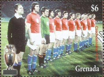 Slovaciká - Grenada - Majstrovstvá Európy vo futbale 1976 - Slovenskí futbalisti