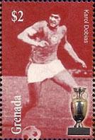 Slovaciká - Grenada - Majstrovstvá Európy vo futbale 1976 - Karol Dobiáš