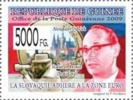 Slovaciká - Guinea - Prechod Slovenska na euro - Alexander Dubček