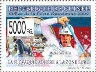 Slovaciká - Guinea - Prechod Slovenska na euro - Michal Martikán