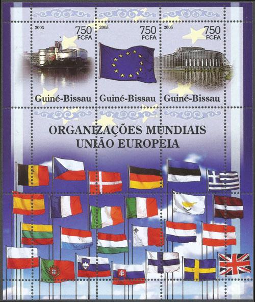 Slovaciká - Guinea-Bissau - Svetové organizácie - Európska únia - Vlajka Slovenska