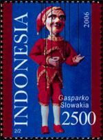 Slovaciká pod¾a krajín vydania - Ázia - Indonézia