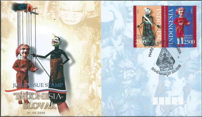 Slovaciká - Indonézia - Bábkové divadlo - Gašparko a Semar