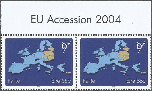 Slovaciká - Írsko - Vstup Slovenska do Európskej únie - Hranice Slovenska